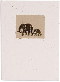 Recycled notebook for journaling made out of Elephant dung
