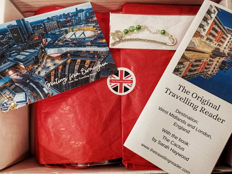 Book Subscription with The Travelling Reader, a British book subscription. What could be a better present for a bookworm?