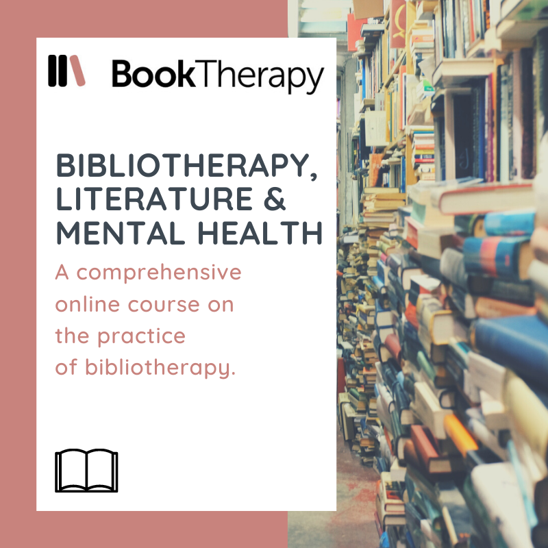 Bibliotherapy courses for all those that want to look more into how books can affect moods