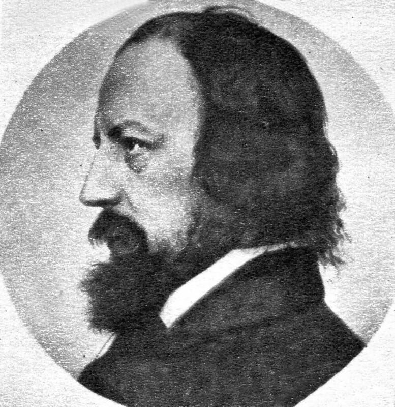 Lord Tennyson portrait