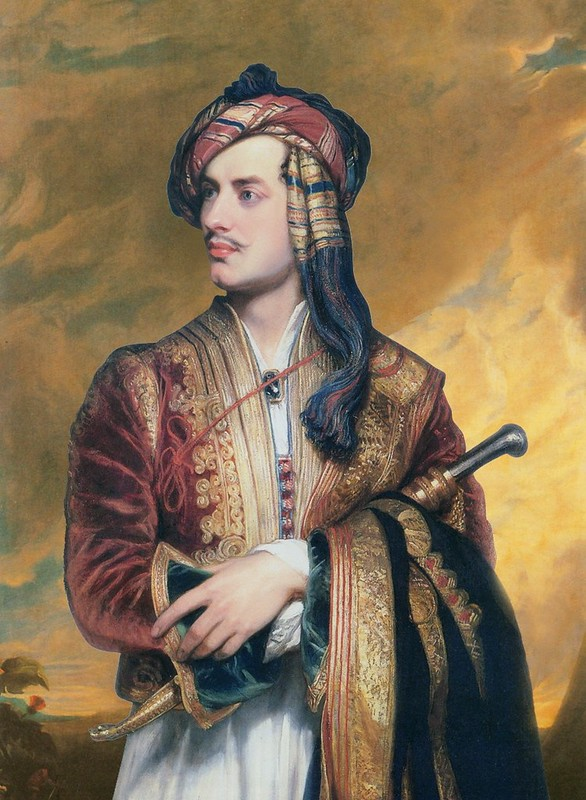 Lord Byron poet and friend of Percy Shelley