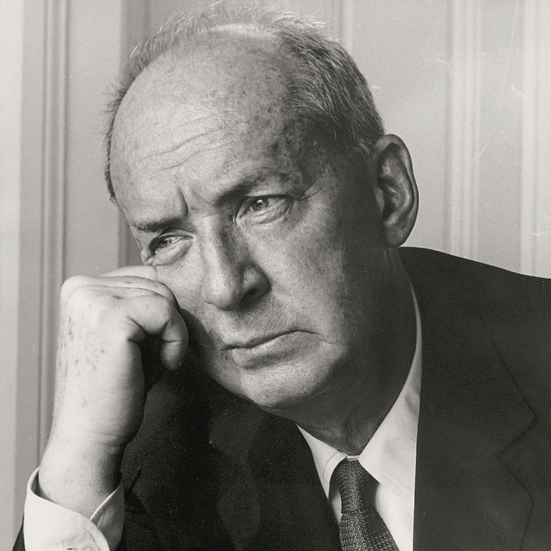 portrait of Vladimir Nabokov, a famous writer who once attended Cambridge University