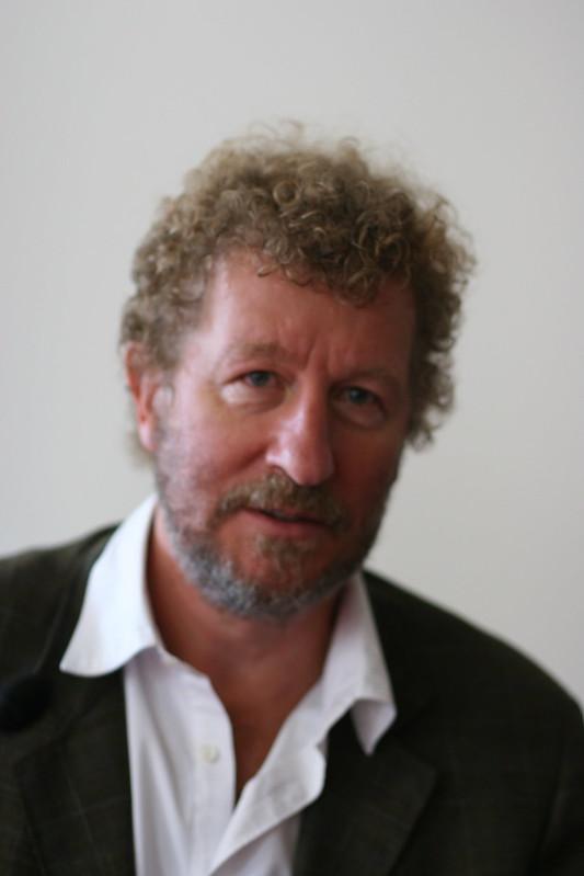 Portrait of Sebastian Faulks author