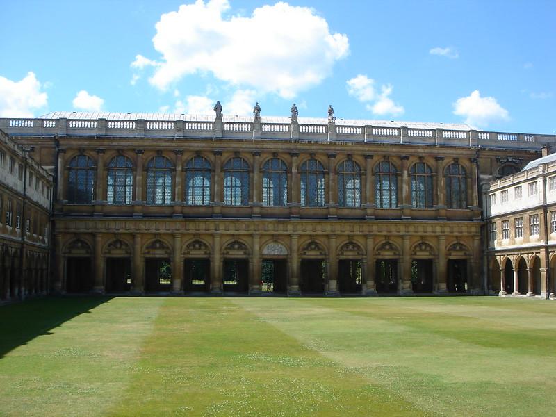 Wren Library, Trinity College Cambridge in the UK