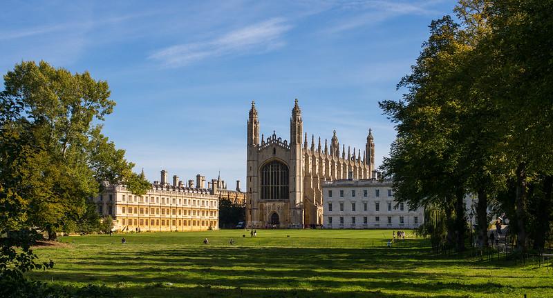 Kings College Cambridge in the UK