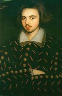 Christopher Marlowe, Poet and contemporary of William Shakespeare.