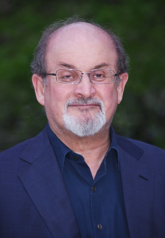 Salman Rushdie, author of the Satanic Verses