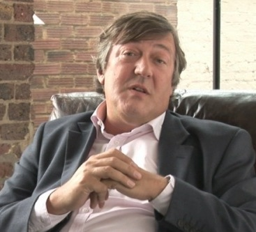 Stephen Fry, author actor and comedian