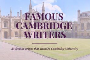 Famous Cambridge writers that you will all want to read. From Poets and playwrights to novelists and historians, these authors cover a diverse list of genres and span across several 100 years. Via @tbookjunkie