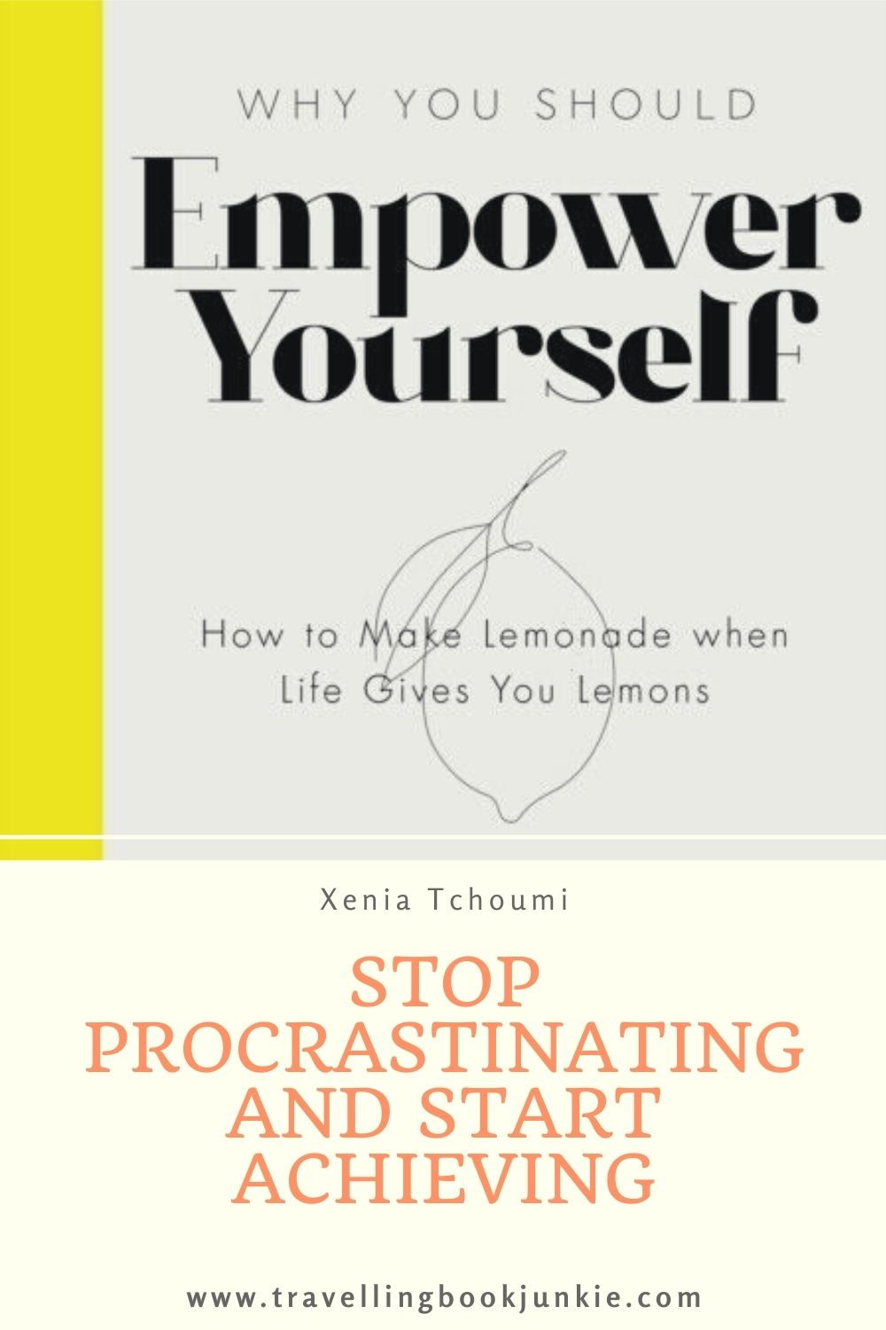 When you are struggling for inspiration on how to succeed for yourself, picking up a #motivational book is a great way to get tips. Empower Yourself by Xenia Tchoumi is a book design to guide you to success. Full review via @tbookjunkie