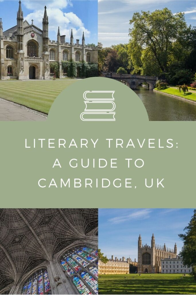 Literary travels: A guide to Cambridge in the UK. This is a comprehensive guide that highlights the best places to visit and stay. Written by @tbookjunkie