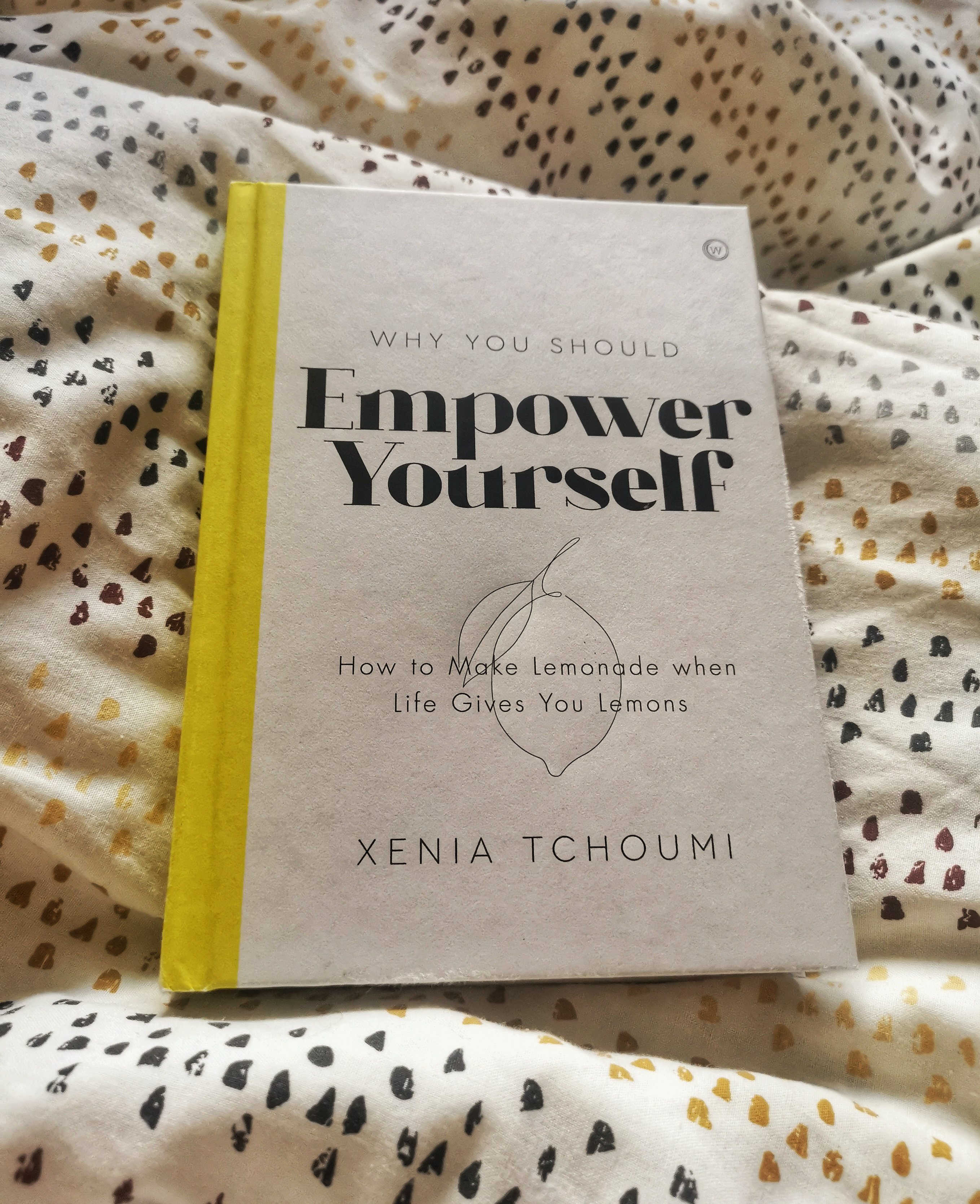 Starting the day the right way with Empower yourself by Xenia Tchoumi. Full review available at @tbookjunkie