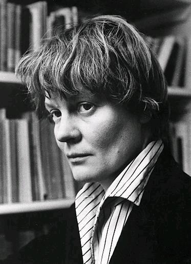 Iris Murdoch portrait