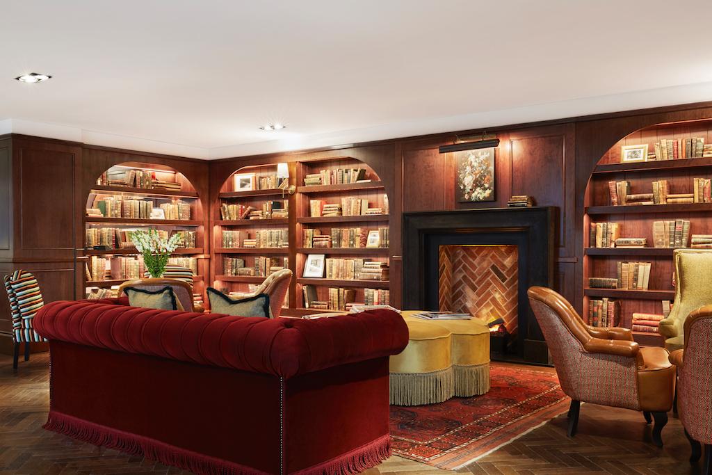 Clayton Hotel library