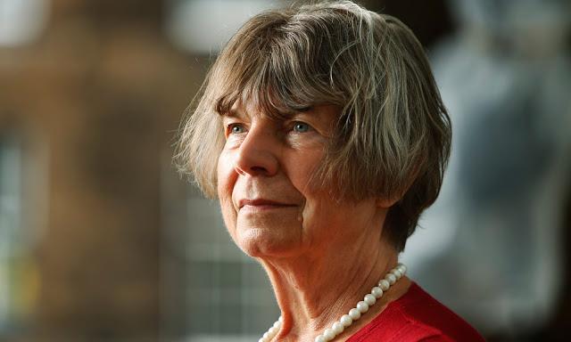 Margaret Drabble, literary critic and author