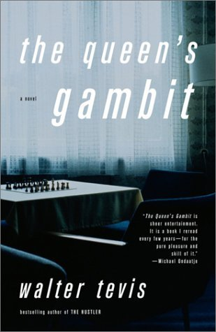 The Queen's Gambit by Walter Tevis highlights the story of a young lady wanting to become a chess champion.