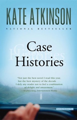Case Histories by Kate Atkinson is a mystery novel set in Cambridge in the UK
