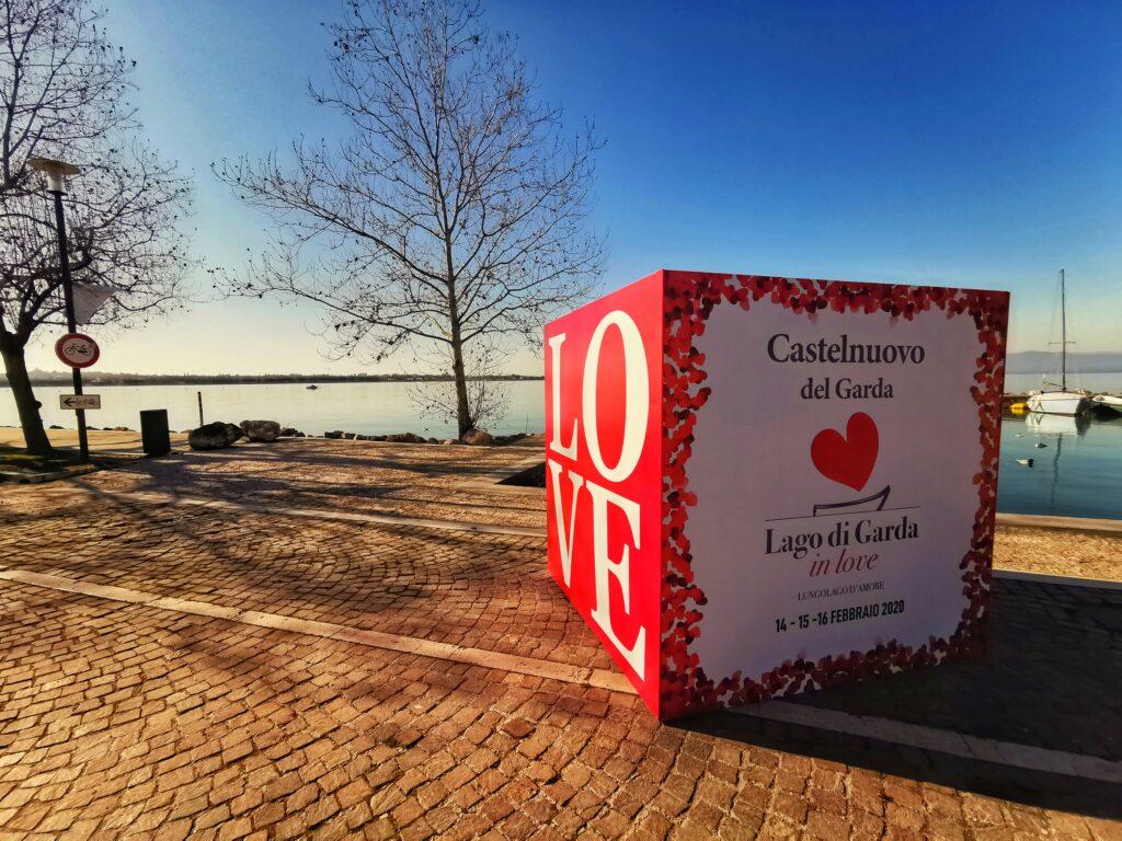 Lake Garda festival of love 2020, celebrating Valentine's Day on the shores of Peschiera del Garda