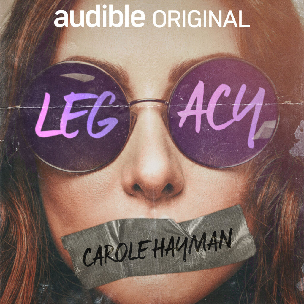 Legacy is an audio book via audible that covers many distressing topics including sxual abuse and harassment as well as discussing gender binary issues. Read the full review via @tbookjunkie