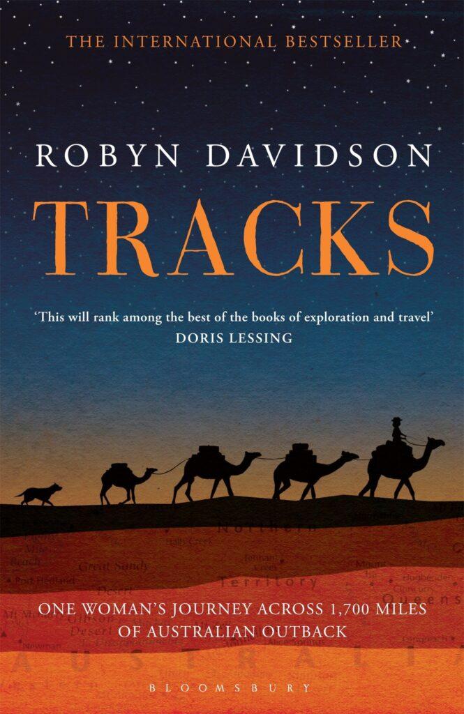 Tracks retells the tale of one woman's journey across the desert
