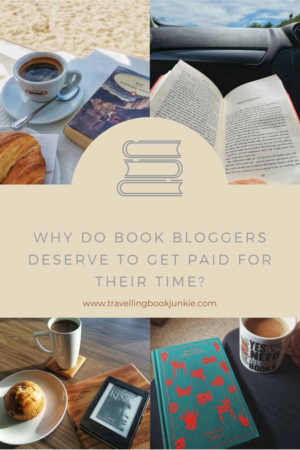 Why do book bloggers deserve to get paid for their time? In this article we explore the way in which book bloggers are losing out on money and how their time deserves to be compensated. Via @tbookjunkie