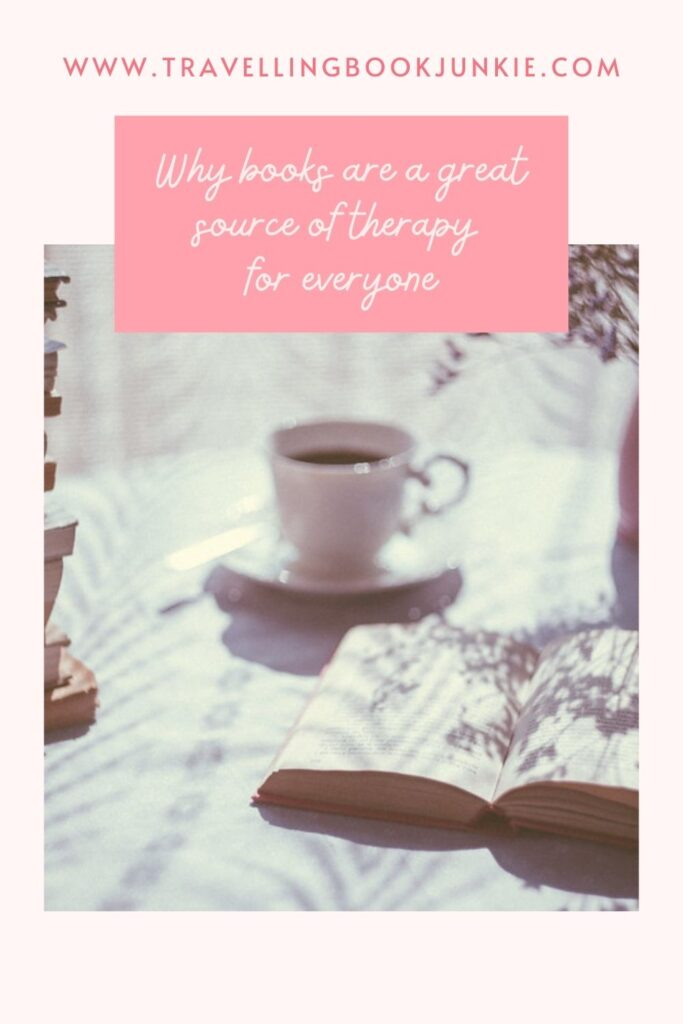 Why books are a great source of therapy for everyone via @tbookjunkie