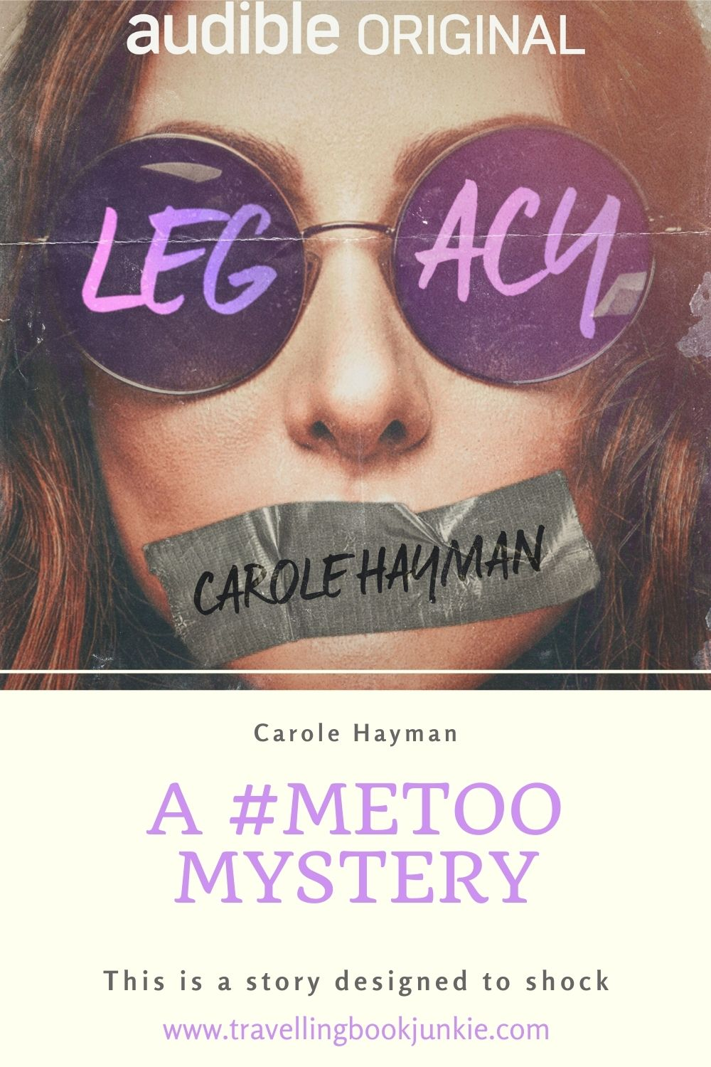 Legacy is a #metoo crime novel that focuses on the repression of memories that are affected by sexual harassment and abuse. Read the full review via @tbookjunkie