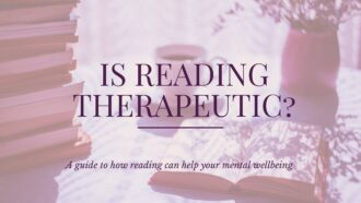 Is reading really therapeutic? Can it be used to help with your mental wellbeing? check out why we think it can via @tbookjunkie