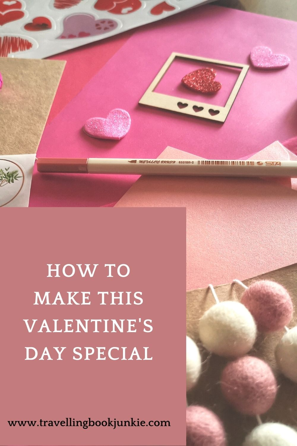 Looking for ideas this Valentine's Day? What to create something for your loved one? Don't let lockdown stop you from celebrating your love for one another. Via @tbookjunkie