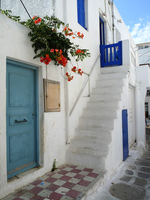 White washed buildings of the Greek islands are now iconic