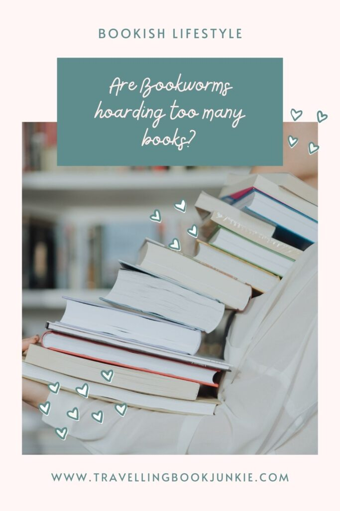 Do bookworms hoard too many books? Have we disguised  hoarding in the form of collecting? Should we get rid of books we will not read again? Read the full article via @tbookjunkie