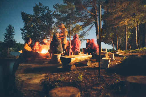 campfires are a great way to spend your evenings when camping