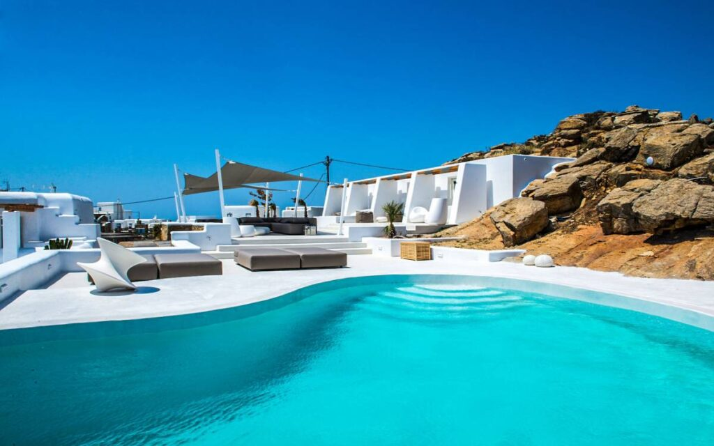 Suite Amethyst in Mykonos Greece is the perfect location for a romantic break