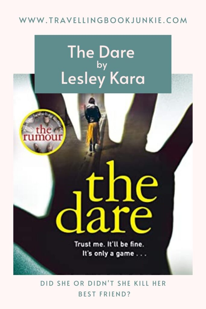 The Dare is Lesley Kara's third crime novel and one of her best. This intense drama unfolds over a period of 12 years as we follow in the footsteps of Lizzie as she tries to discover whether she did in fact kill her best friend when they were kids. Read my full, honest view at @tbookjunkie