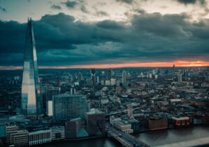 The Shard in London offers  a fantastic view of the city's skyline as well as plenty of options for food and drinks as well as an amazing afternoon tea that could be perfect for Mother's Day