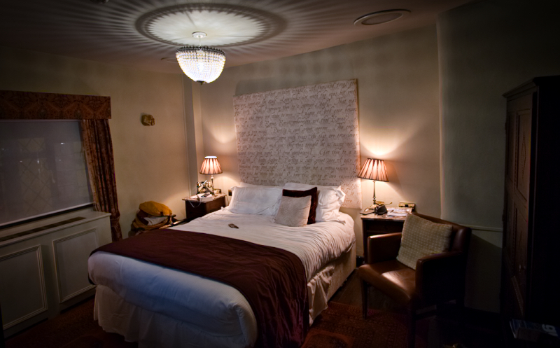 The Romeo and Juliet Room at the White Swan in Stratford-upon-Avon