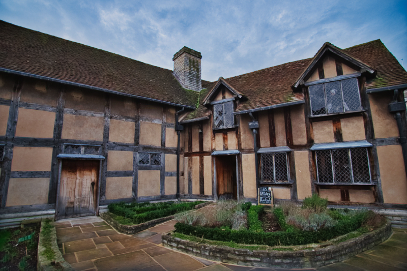 Shakespeares Birthplace Stratford-upon-Avon can be found on Henley Street