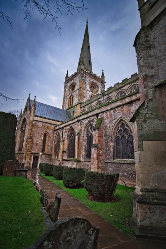Holy Trinity Church where Shakespeare is buried