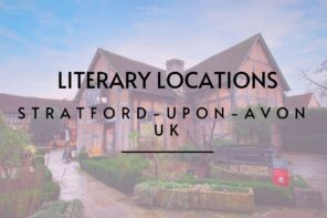 Stratford-upon-Avon is the birthplace of Willliam Shakespeare and today there is a wealth of things to see and do. A literary staycation in the UK therefore should include a stop of for a night or two at this location. Read about all the literary stop offs via @tbookjunkie