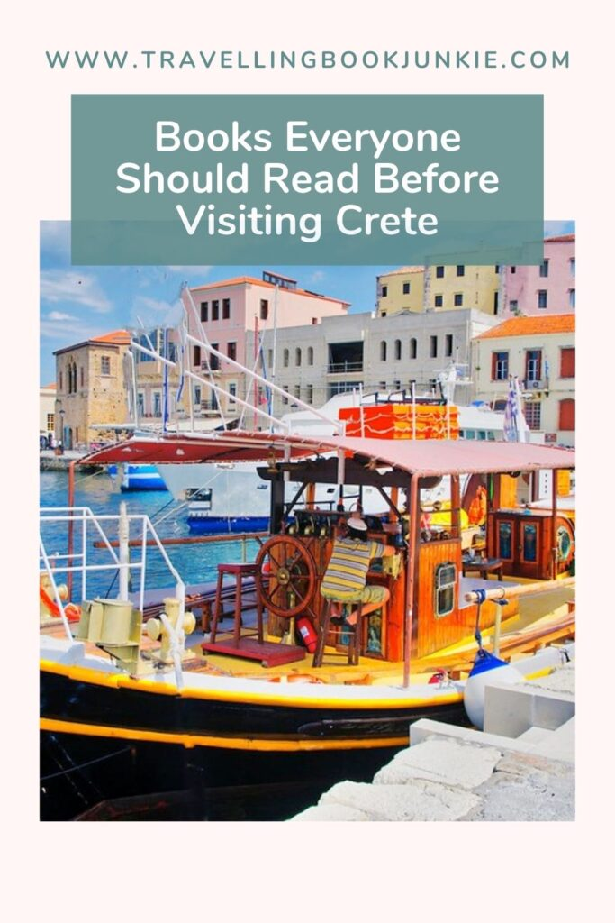 Books everyone should be reading before they visit Crete in Greece via @tbookjunkie