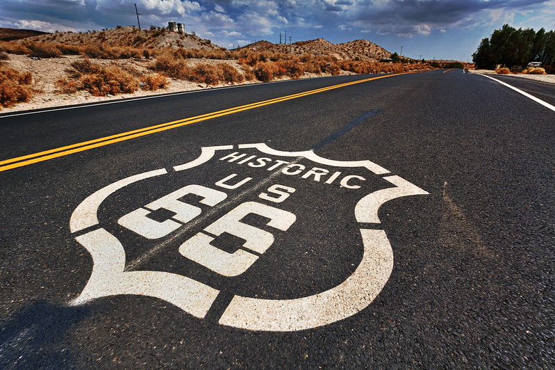 Route 66 is perhaps the most known road not just in America but across the world.