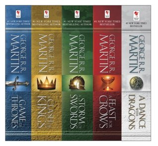 A Game of Thrones by Goerge R.R. Martin is not just an epic set of books but also a fantastic tv show