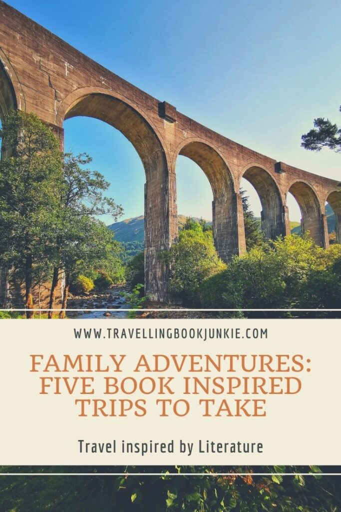 Family adventures that everyone should take after reading these books suggested by @tbookjunkie