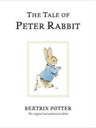 Peter Rabbit perhaps the most famous character created by Beatrix Potter and a well known Children's character