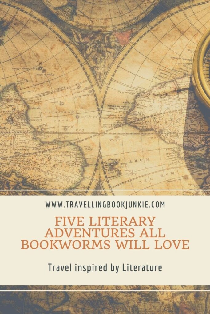 The five literary adventures that all booksellers will love through @tbookjunkie see us visiting India, Croatia, Italy, Oxford and New Zealand.