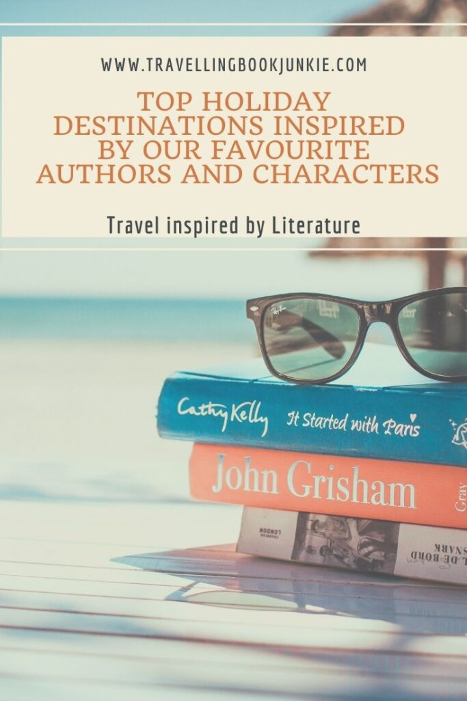 Top holiday destinations inspired by the books we read. Do you have a love of literature that would see you visiting Italy, Croatia or Scotland following in your favourite characters footsteps? Where do @tbookjunkie recommend you visit first?